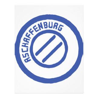 Aschaffenburg Personalized Letterhead