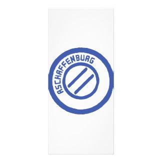 Aschaffenburg Personalized Rack Card
