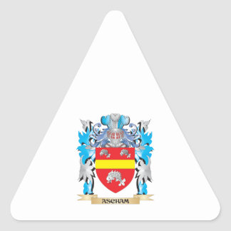 Ascham Coat Of Arms Stickers