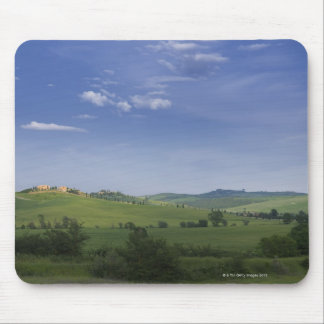 Asciano, Crete Senesi, Siena Province, Tuscany, Mouse Pad