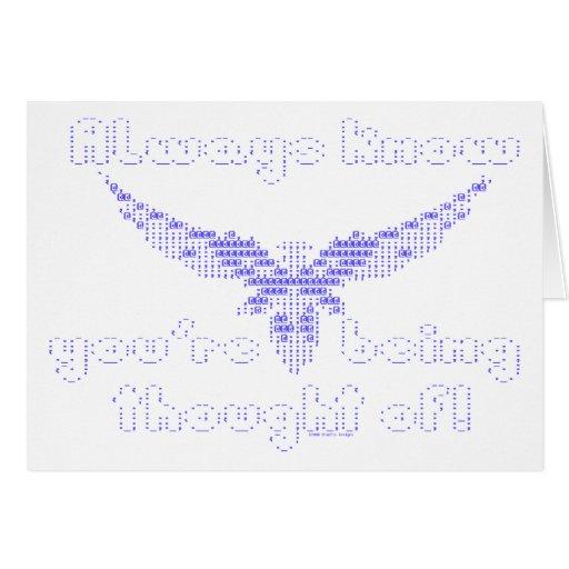 ASCII Angel - Always Know Card