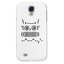 Ascii Art Owl Samsung Galaxy S4 Cover