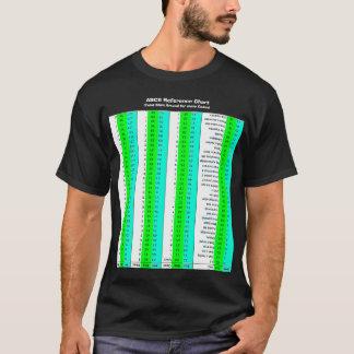 ASCII Chart, CAOS Style T-Shirt