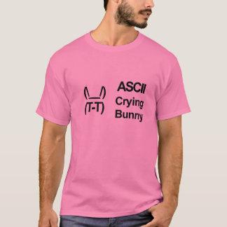ASCII Crying Bunny T-Shirt