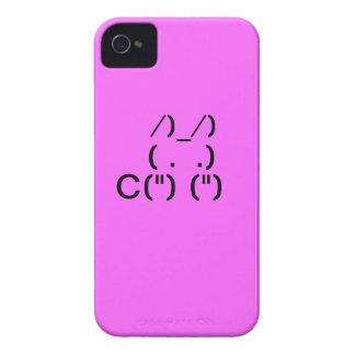 ASCII Konijntje iPhone 4 Case-Mate Case