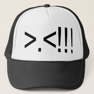 ASCII Rage Face Trucker Hat