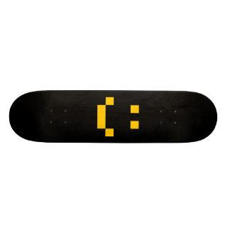 ASCII smilie compound skateboard