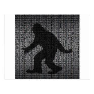 ASCII Squatch Postales