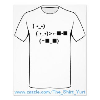 ASCII Unicode Sunglasses Deal With It Flyer