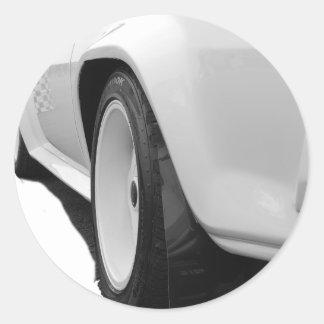 Ascona i400 classic round sticker
