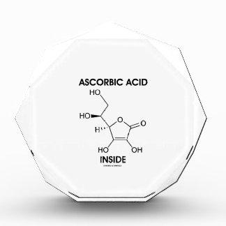 Ascorbic Acid Inside (Vitamin C Chemical Molecule) Award