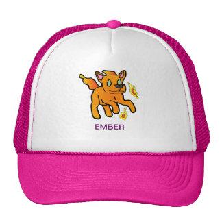 Ascua el gorra del perro del fuego