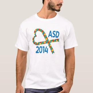 ASD 2014 Puzzle Piece Ribbon T-Shirt
