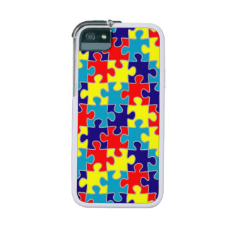 ASD Aspergers Autism Awareness Puzzle Pattern Case For iPhone 5