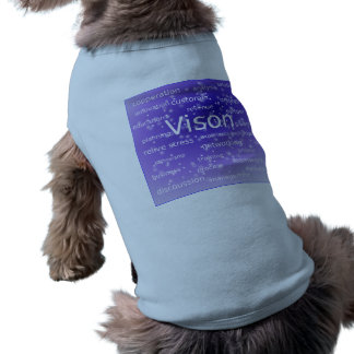asdf-273512 MOTIVATIONAL BUSINESS ETHICS VISION ST Doggie T Shirt