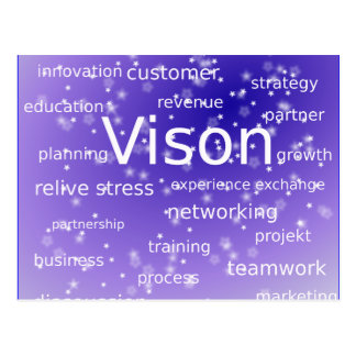 asdf-273512 MOTIVATIONAL BUSINESS ETHICS VISION ST Postcard