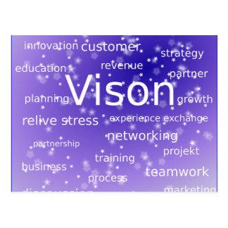 asdf-273512 MOTIVATIONAL BUSINESS ETHICS VISION ST Postcard