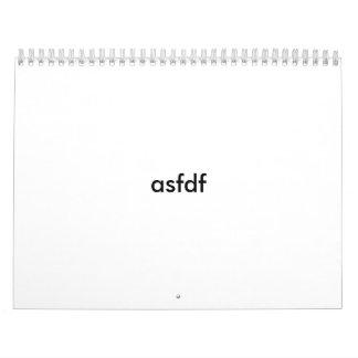 asdf calendar