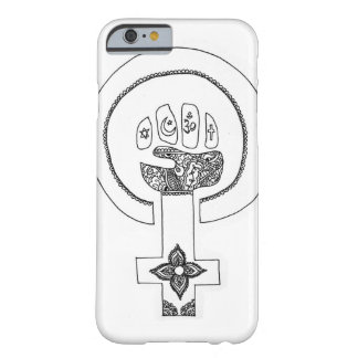 Ase feminista del iPhone Funda Para iPhone 6 Barely There