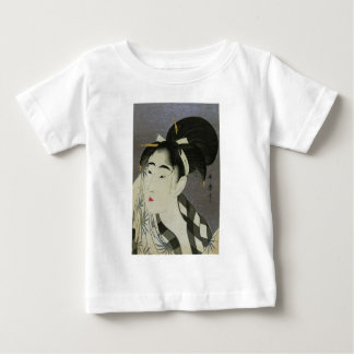 Ase O Fuku Onna Woman Wiping Sweat Baby T-Shirt