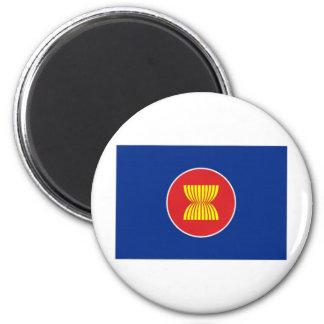 ASEAN Flag 2 Inch Round Magnet