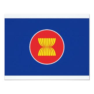 ASEAN Flag 4.25x5.5 Paper Invitation Card
