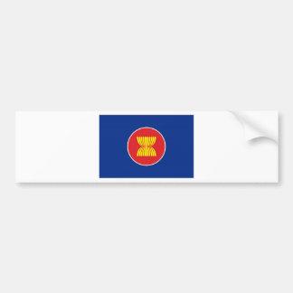 ASEAN Flag Car Bumper Sticker