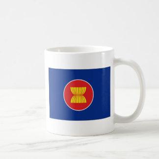 ASEAN Flag Classic White Coffee Mug