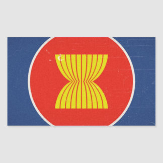 asean rectangle stickers