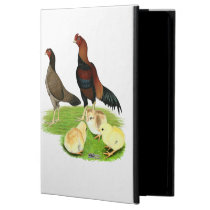 Aseel Wheaten Chicken Family Cover For iPad Air