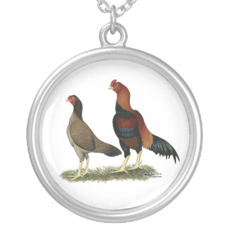 Aseel Wheaten Chickens Necklaces