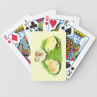 Aseel Wheaten Chicks Deck Of Cards