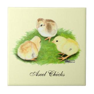 Aseel Wheaten Chicks Tile