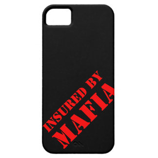 Asegurado por la mafia iPhone 5 fundas