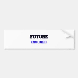 Asegurador futuro pegatina de parachoque