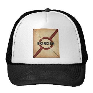 Asegure la frontera gorras de camionero
