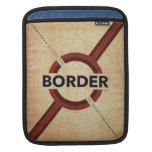 Asegure la frontera mangas de iPad