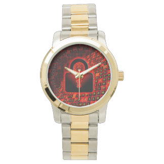 Asegure los datos relojes de pulsera