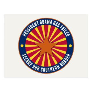 Asegure nuestra frontera meridional postales