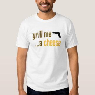 Áseme a la parrilla un queso camisas