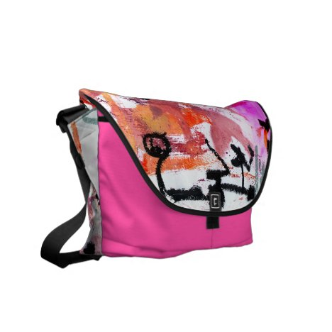 Asemic 3 courier bag