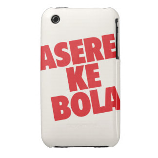 Asere que Bola iPhone 3 Cover