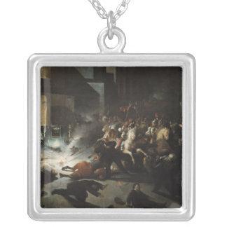Asesinato frustrado del emperador Napoleon Collar Plateado