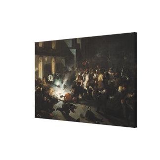 Asesinato frustrado del emperador Napoleon Impresiones De Lienzo