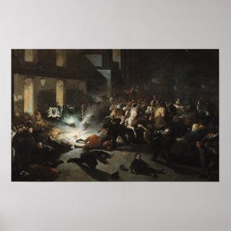 Asesinato frustrado del emperador Napoleon Póster