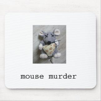 Asesinato Mousepad del ratón Tapete De Ratones
