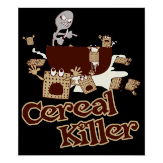 Asesino $24,90 del cereal impresiones