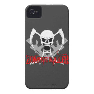 asesino 3 del zombi Case-Mate iPhone 4 protectores