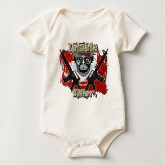 Asesino 4 del zombi body para bebé