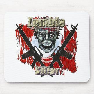 Asesino 4 del zombi mousepads